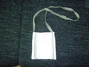 Veľké tašky - biela taška - 8474781_