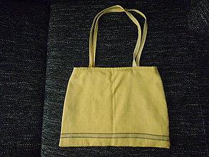 Veľké tašky - žltá taška s 2 rúčkami - 8474791_