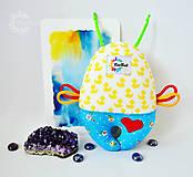 Hračky - Vesmírny chrobáčik kačičkový - hrkálka - 8476122_