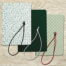 Papiernictvo - obaly na zošity A5 - zelené - 8477810_