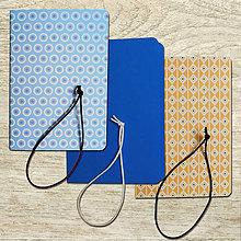 Papiernictvo - obaly na zošity A5 - modré - 8477943_
