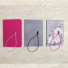 Papiernictvo - obaly na zošity A5 - ružové - 8478732_