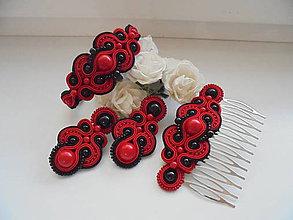 Sady šperkov - Soutache set Marina - 8477422_
