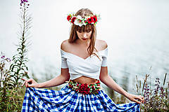 """Opasky - Kvetinový opasok """" Žatva """" - 8478764_"""