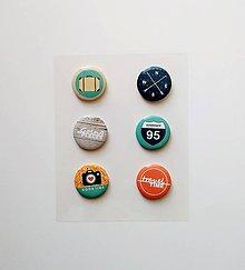"""Galantéria - buttonky """"travel"""" - 8476555_"""