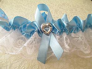 Bielizeň/Plavky - svadobný podväzok - 8478690_