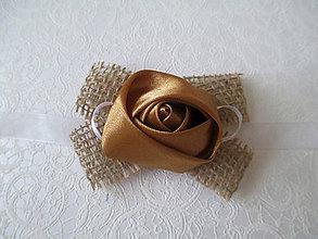 Kytice pre nevestu - náramok pre družičku vintage - 8478763_