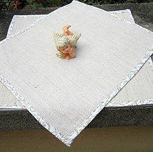 Úžitkový textil - prestieranie vianočné elegantné - 8476274_