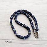 Náhrdelníky - Korálkový náhrdelník 589-0050 - 8481439_