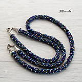 Náhrdelníky - Korálkový náhrdelník 589-0050 - 8481440_
