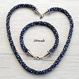 Náhrdelníky - Korálkový náhrdelník 589-0050 - 8481441_