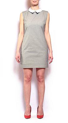 Šaty - Šaty s košeľovým golierom - 8480610_