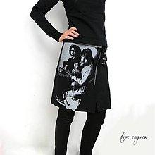 Sukne - Zavinovacia sukňa NIRVANA - 8481160_