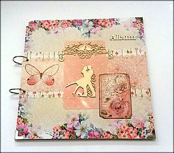Papiernictvo - Svadobný scrapbookový maxi album 30x30 cm - 8479260_