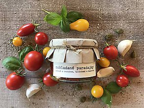 Potraviny - Nakladané sušené paradajky - 8480715_