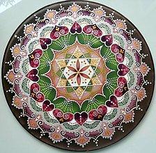 Dekorácie - Mandala lásky a šťastného partnerstva - 8479364_