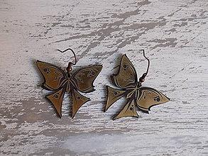 Náušnice - Náušnice - Butterflies - 8481637_