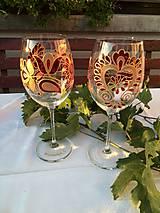 Nádoby - poháre na víno - 8481947_