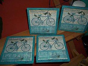 Obrázky - Bicykel v tyrkysovom - 8479012_
