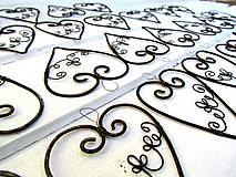 Darčeky pre svadobčanov - tepané ♥ väčšie - 8480502_