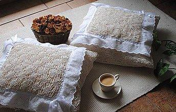 Úžitkový textil - Provensálsky vankúš - 8479090_