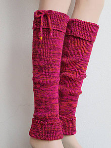 Obuv - Návleky na nohy barevné - 8483513_
