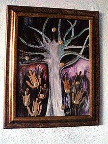 """Obrazy - """"...strom šťastia hojnosti a spokojnosti..."""" - 8484064_"""