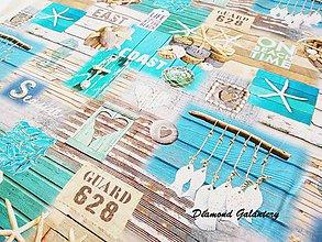 Textil - Bavlna režná - Beach Time - cena za 10 cm - 8483910_