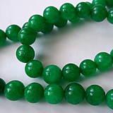 - Jadeit 6mm-zelený-1ks - 8484593_