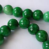 - Jadeit 10mm-zelený-1ks - 8484603_