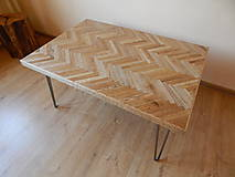 Nábytok - Retro konferenčný stolík (Retro coffee table) (1.) - 8483193_