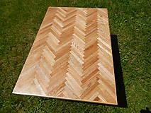 Nábytok - Retro konferenčný stolík (Retro coffee table) (1.) - 8483194_