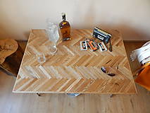 Nábytok - Retro konferenčný stolík (Retro coffee table) (1.) - 8483197_