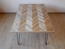 Nábytok - Retro konferenčný stolík (Retro coffee table) (1.) - 8483215_