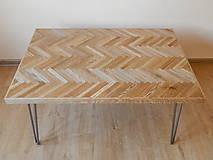 Nábytok - Retro konferenčný stolík (Retro coffee table) (1.) - 8483216_