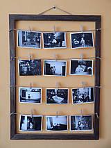 Rámiky - Dubový fotorámik (Oak photo frame) - 8483336_