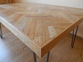 Nábytok - Retro konferenčný stolík (Retro coffee table) (1.) - 8483204_