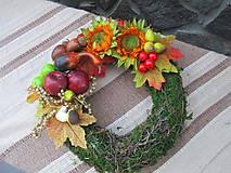 Dekorácie - Jesenný venček - 8484315_