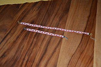 Náramky - Srdiečkový náramok a nahrdelník - 8484141_