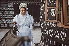 Šaty - Svadobné krojové šaty  - 8483731_
