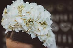 Ozdoby do vlasov - Svadobná parta - 8483824_