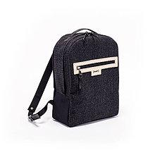 Batohy - Backpack Tweedy black - 8483800_