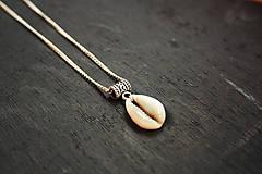 - Tropický boho náhrdelník - 8482005_