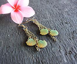 Náušnice - Mermaid náušnice z Maui - 8482002_