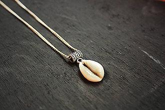 Náhrdelníky - Tropický boho náhrdelník - 8482005_
