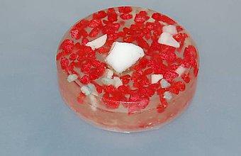 Socha - Dekorácia červené kamienky - 8483615_