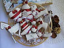 Dekorácie - vianočná sada I - 8486727_