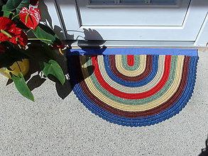 Úžitkový textil - Recy koberček šašo Jašo - 8486153_