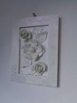 Obrazy - Kvety - modelovaný obrázok - 8487340_