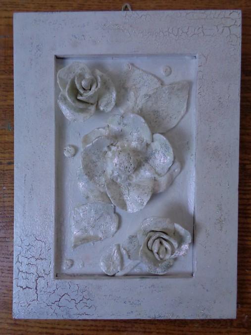 Kvety - modelovaný obrázok
